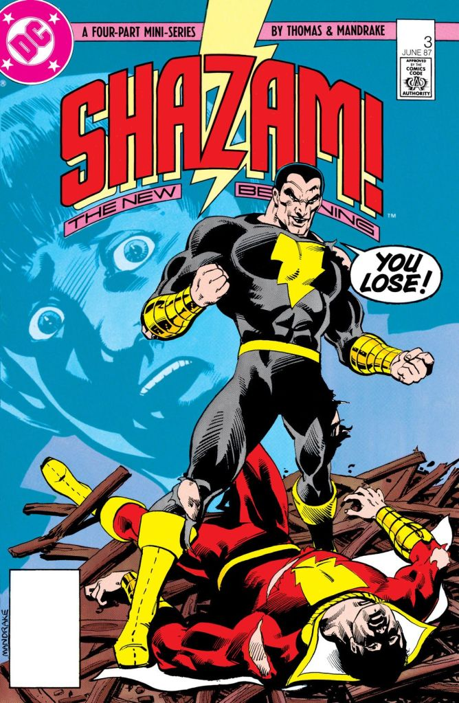 Shazam black Adam par Dc Comics