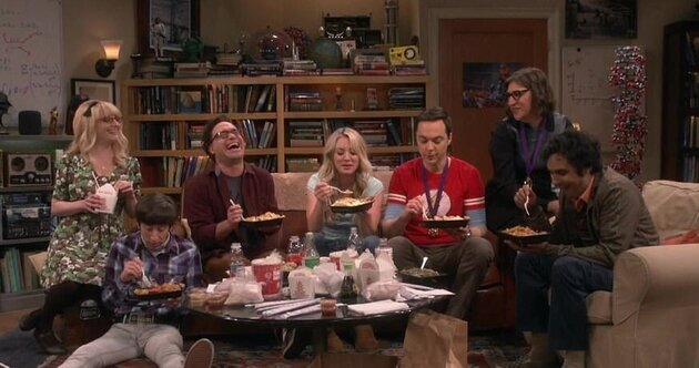 fin the big bang theory